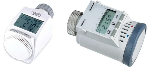 Automatische thermostaatkraan voor radiator