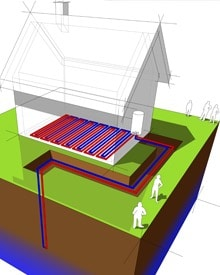 Werking water water warmtepomp