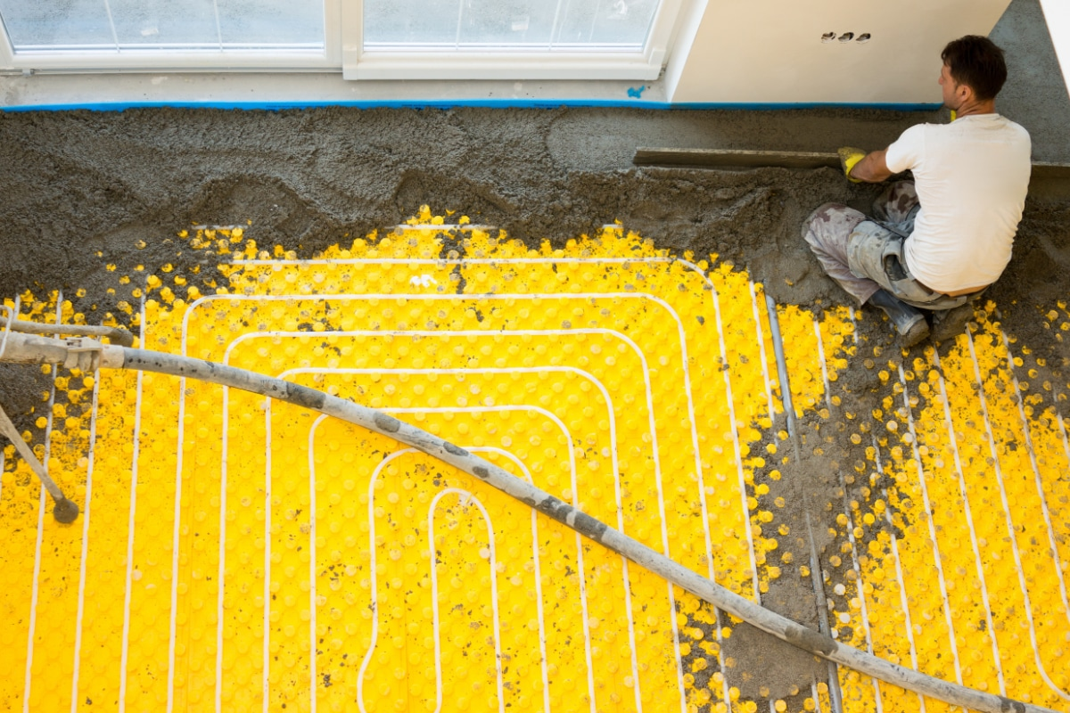Vloerverwarming Badkamer Aanleggen : Vloerverwarming leggen methodes prijs