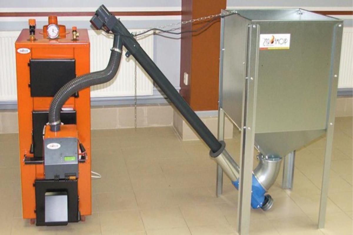 biomassaketel verwarming