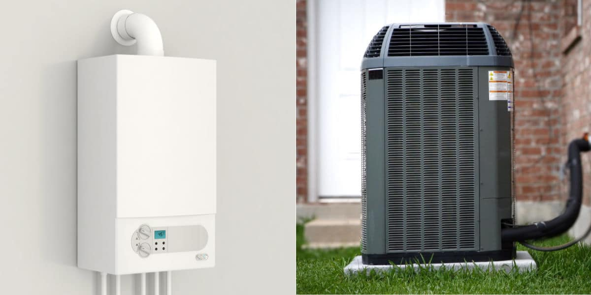 centrale verwarming ketel hybride