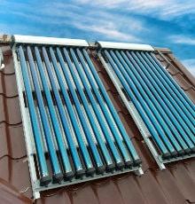compacte zonneboiler plaatsen
