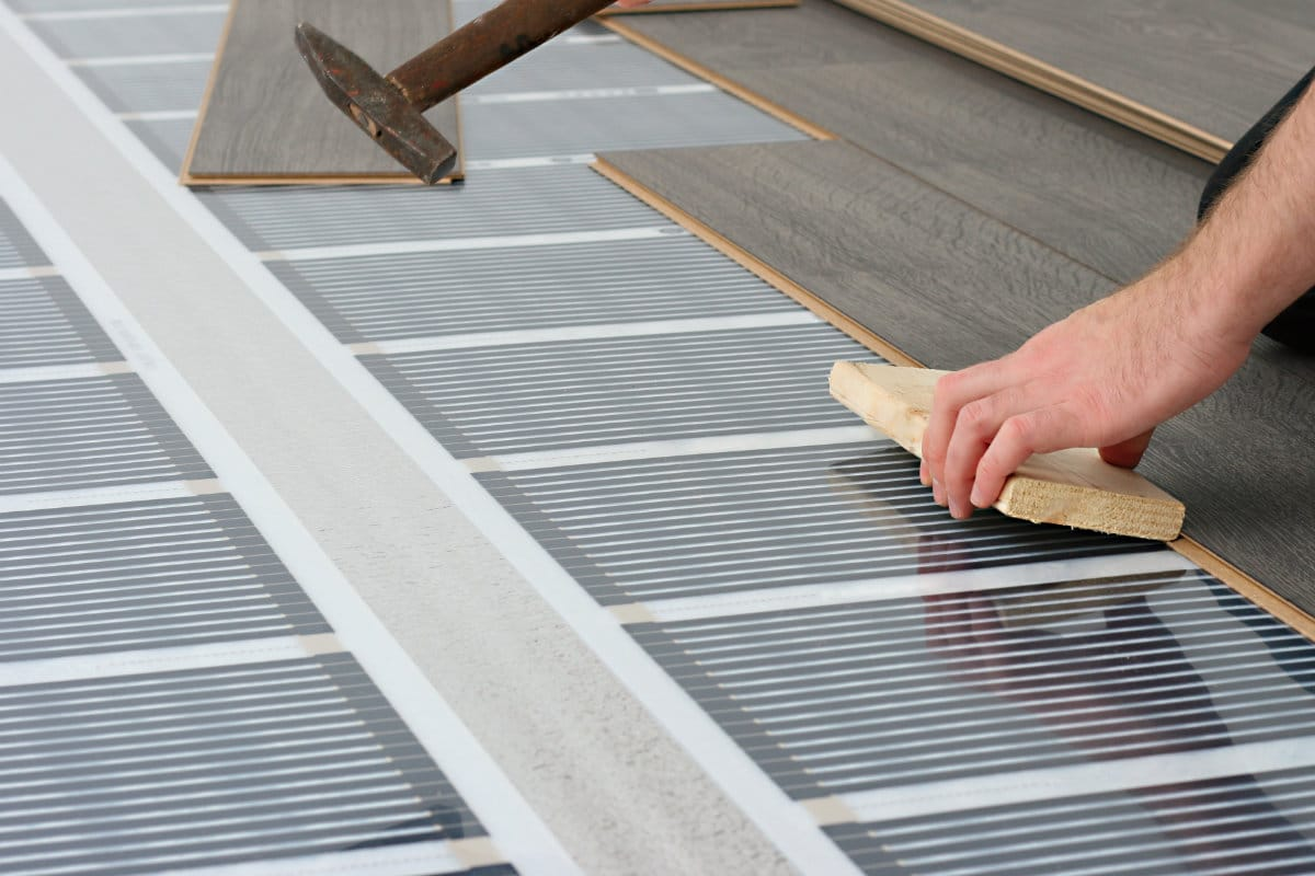 elektrische vloerwarming prijs voor nadelen en advies. Black Bedroom Furniture Sets. Home Design Ideas