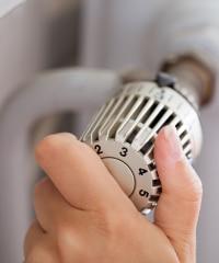 thermostaatkranen op radiator